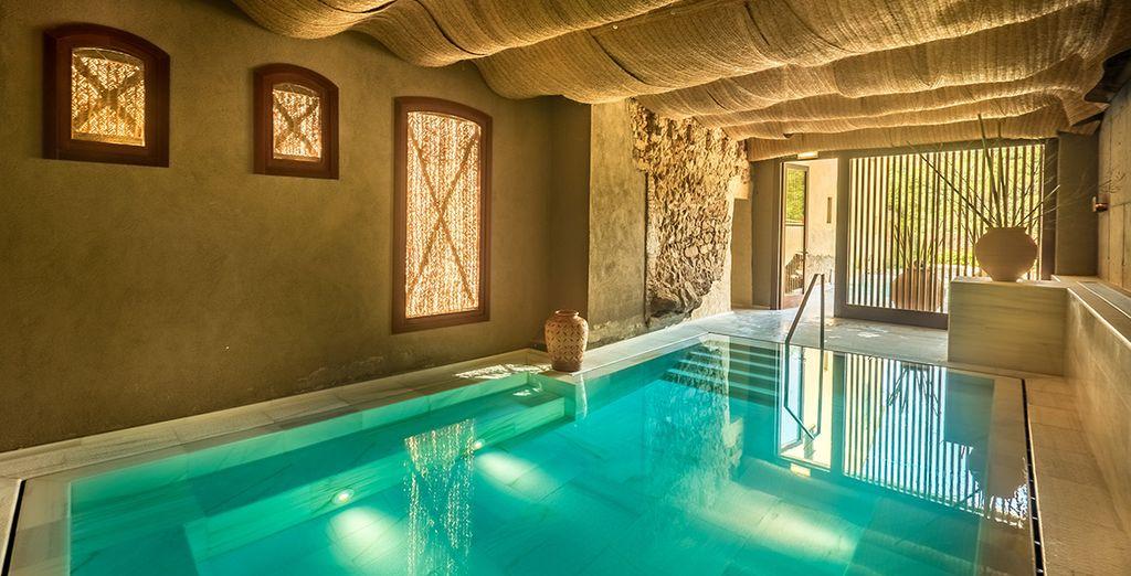 Prepárate para sentir los efectos altamente beneficiosos para la salud de los contrastes en Hotel Mas Salagros Ecoresort & Aire Ancient Baths 5*