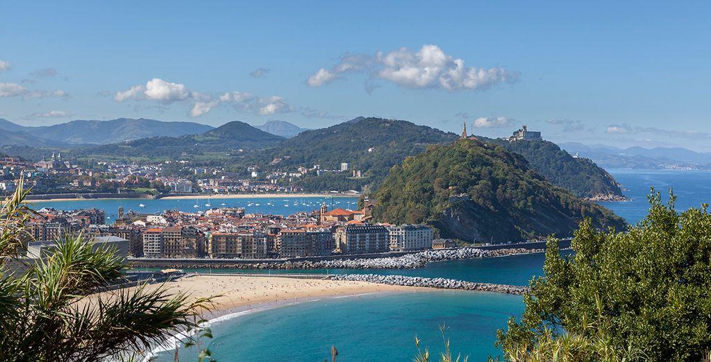 San Sebastián, muy cercana