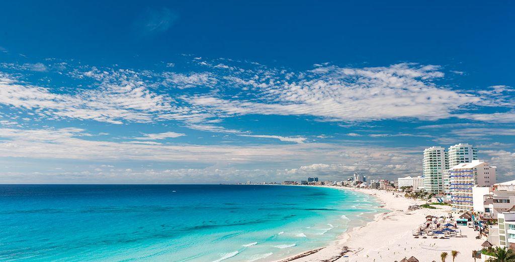 Cancún es sinónimo de vacaciones y desconexión