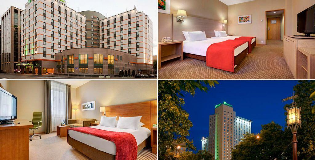 Modernidad y confort en tus hoteles 4* de Moscú