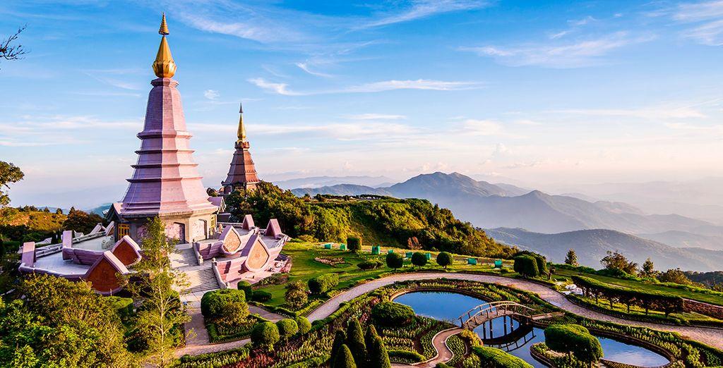Un paisaje onírico se le abre en Chiang Mai