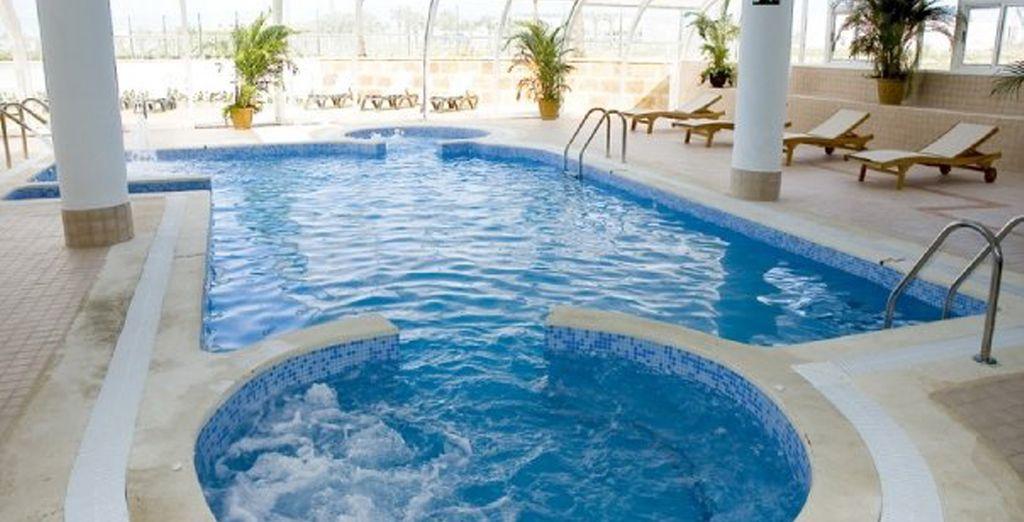 El spa cuenta con los mejores tratamientos de relajación