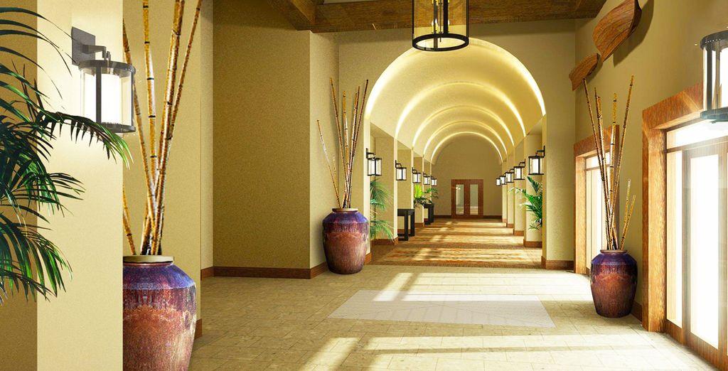 Un resort de estilo moderno