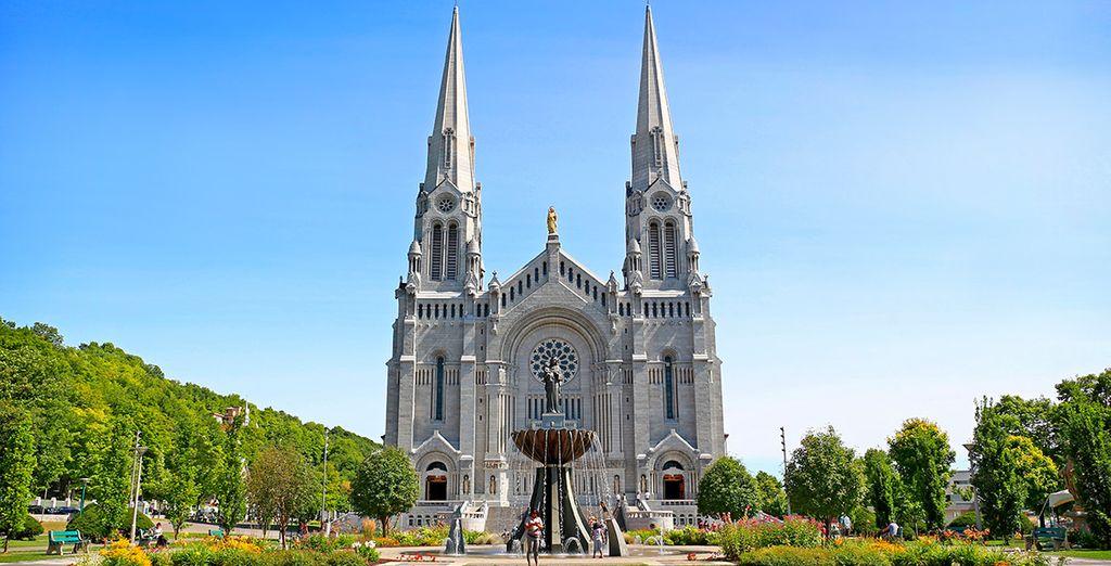 La basílica de Sainte Anne de Beaupré