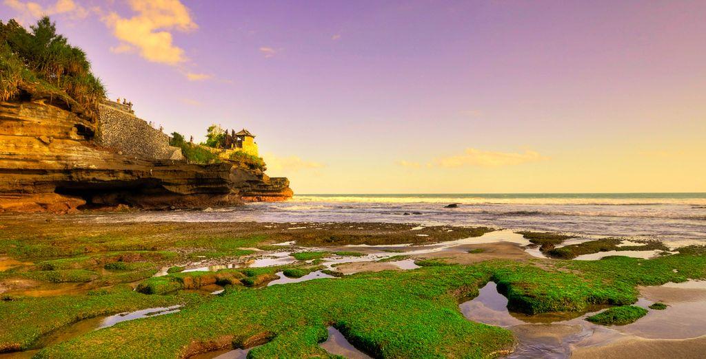 Visite el Templo Cliff en la playa de Balangan, Bali