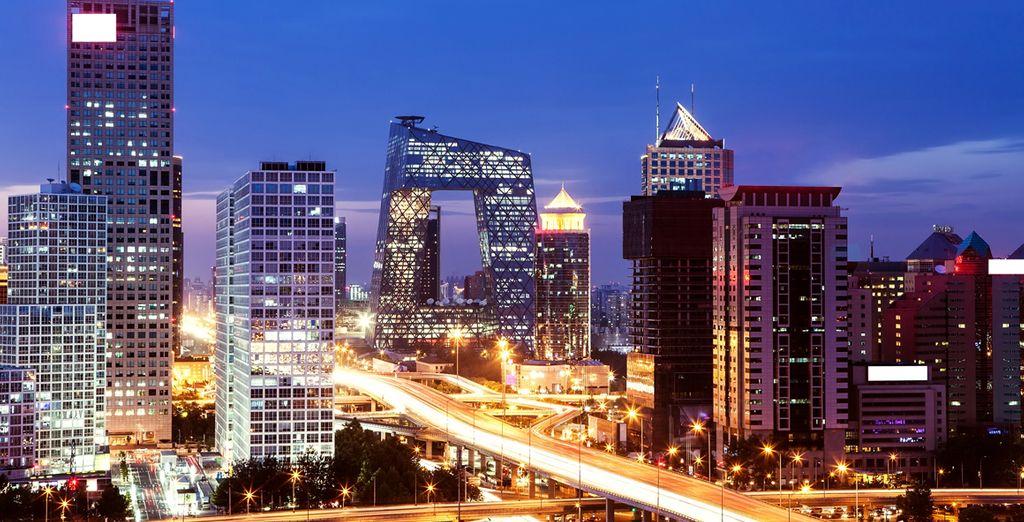 Bienvenido a la exuberante Pekín