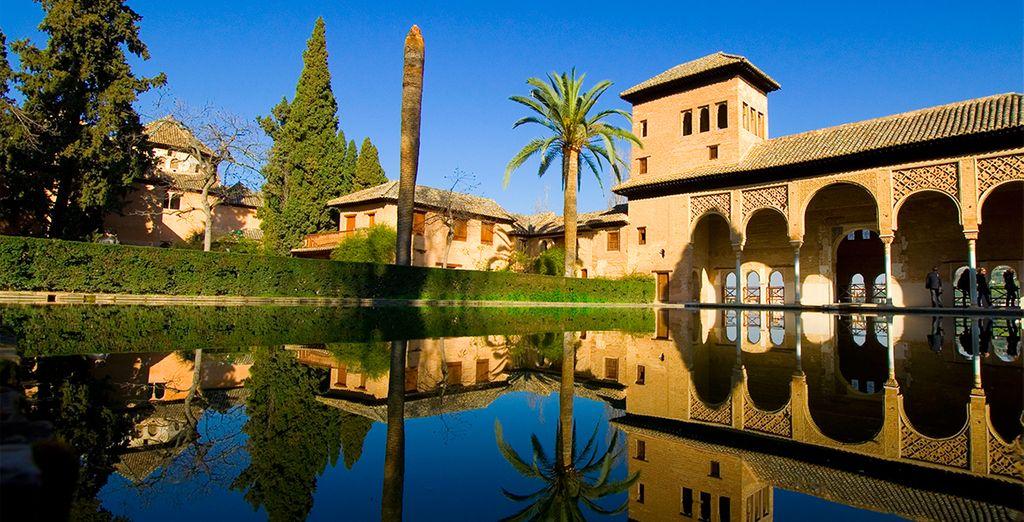 Piérdase por las maravillas de la Alhambra