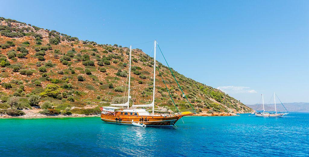 Estambul y crucero en goleta por Turquía e Islas Griegas