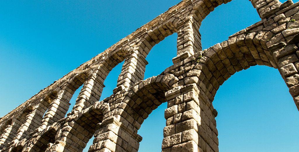 El Acueducto de Segovia, Patrimonio de la Humanidad