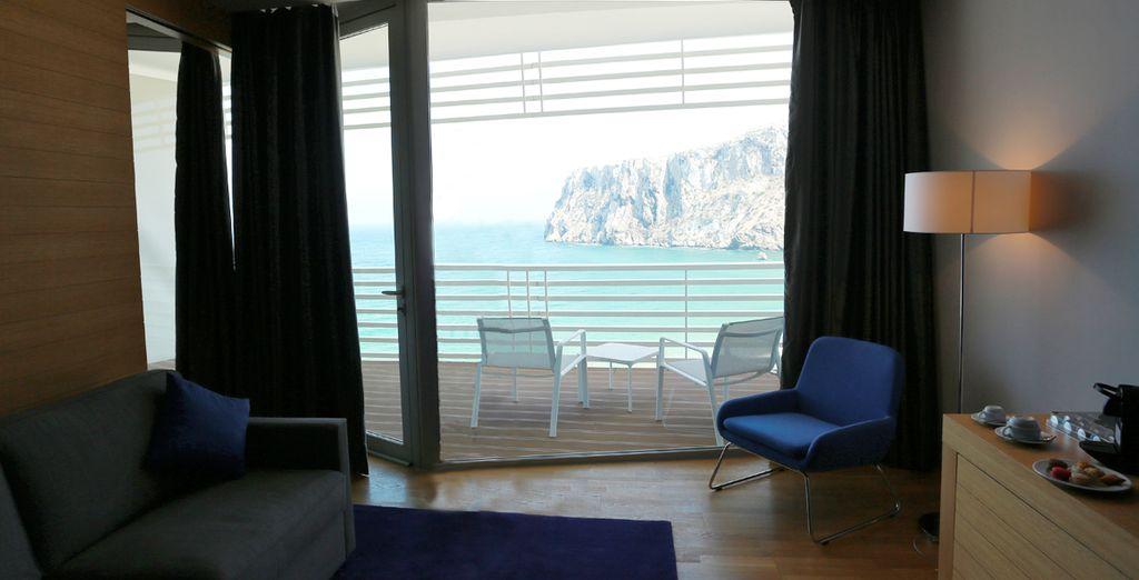 Disfrute de su Habitación con grandes vistas