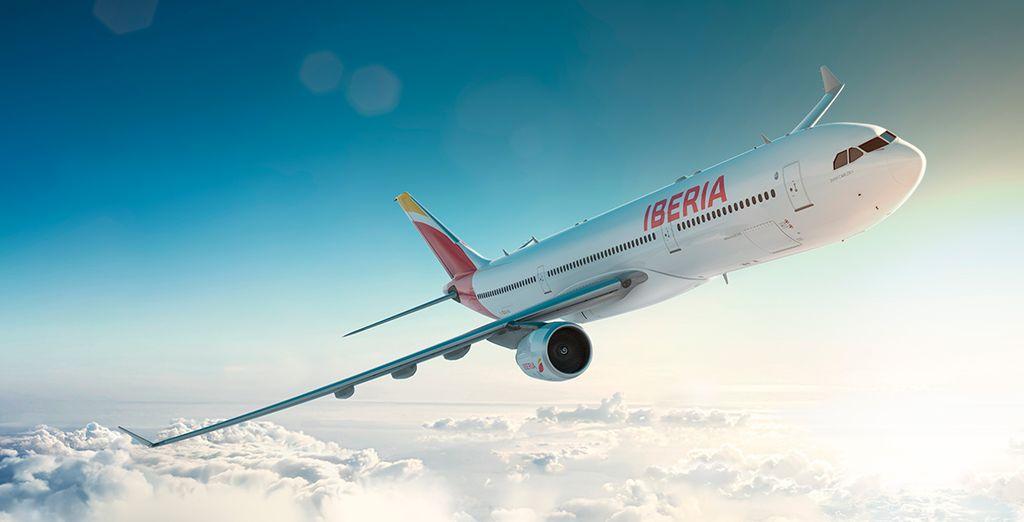 Iberia, aerolínea preferente en Voyage Privé España