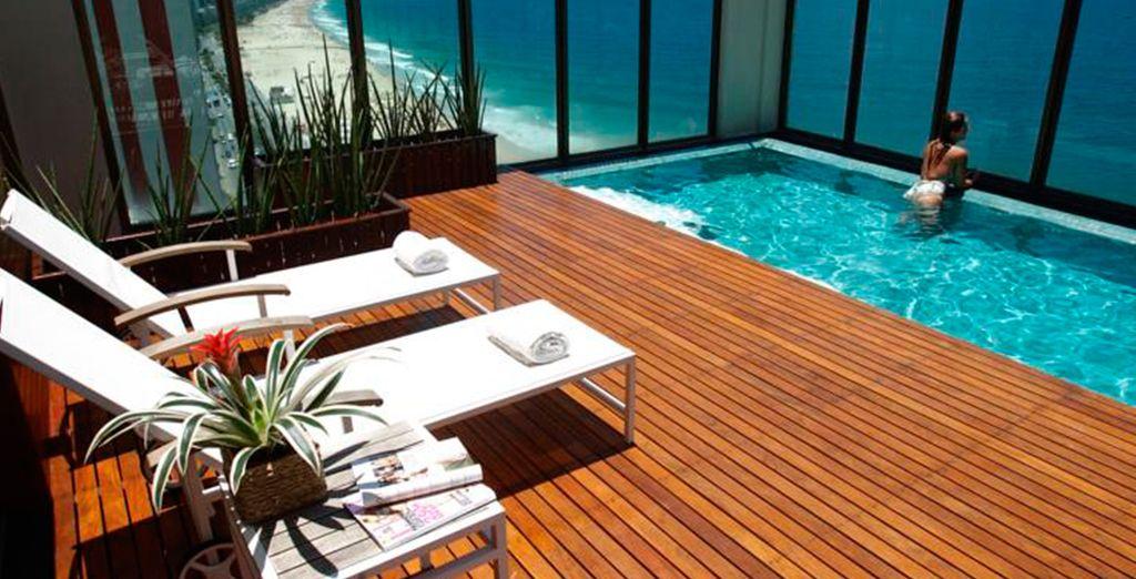 Hotel Marina All Suites es el único hotel boutique de lujo en Río