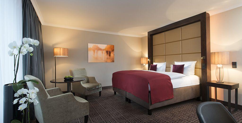 Hemos seleccionado para ti una habitación Business Deluxe