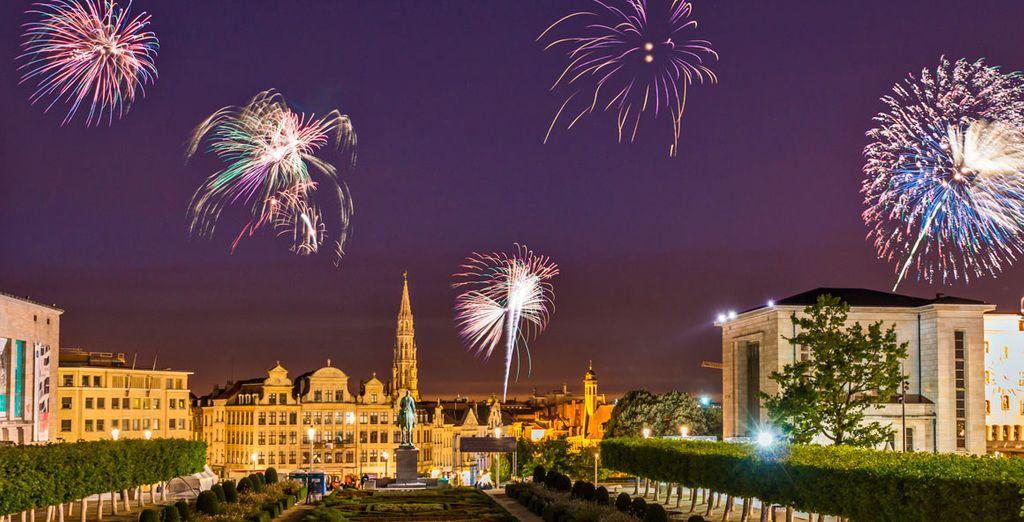 Bruselas se viste de gala para Fin de Año