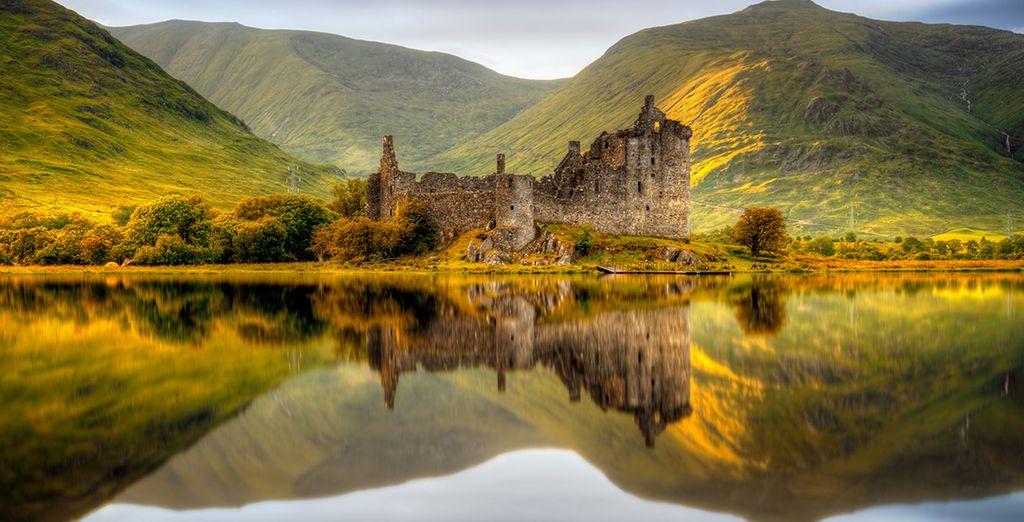 Descubre paisajes preciosos por tierras escocesas