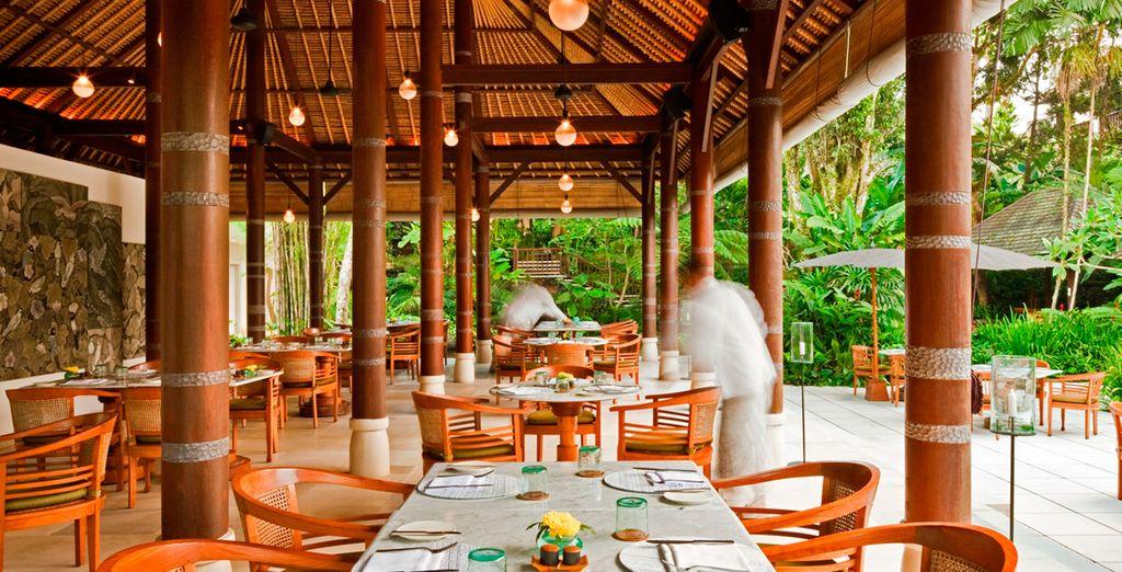 El Kemiri sirve cocina balinesa y asiática durante todo el día
