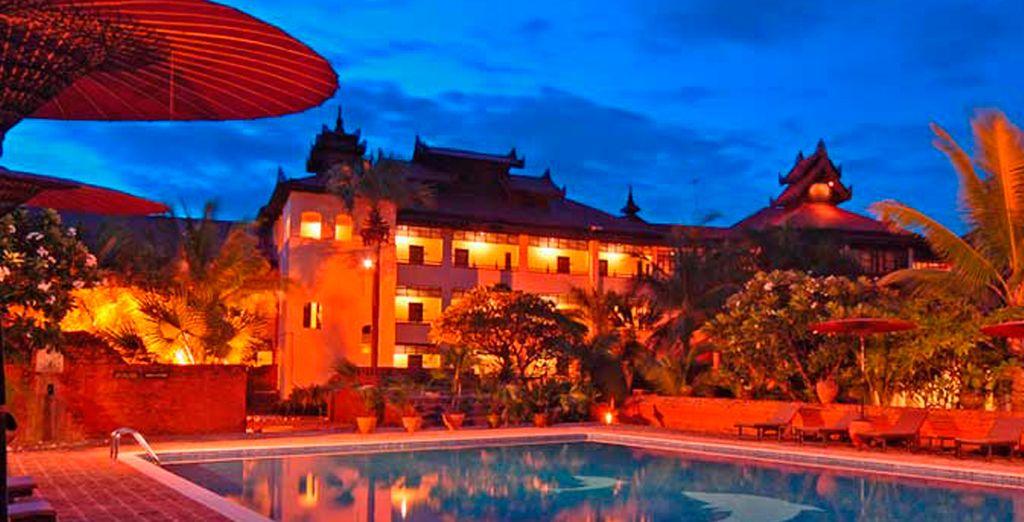 El Hotel Amazing Bagan Resort, en Bagan, será su alojamiento en este destino