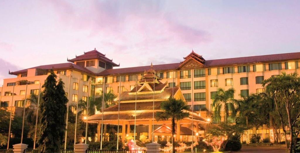 El Hotel Sedona Mandalay es una de las opciones para alojarse Mandalay...