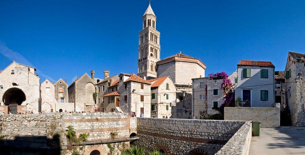 Split, una de las joyas de Croacia