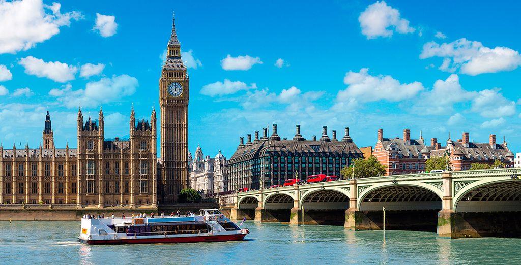 Vuelo más hotel Londres