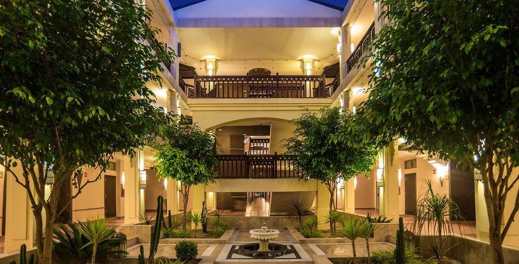 Un hotel donde cuidan los detalles, acogedor y elegante