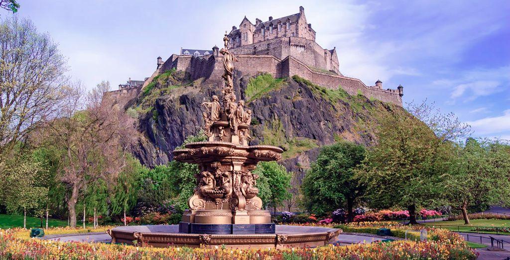 El Castillo de Edimburgo, uno de los iconos de la ciudad