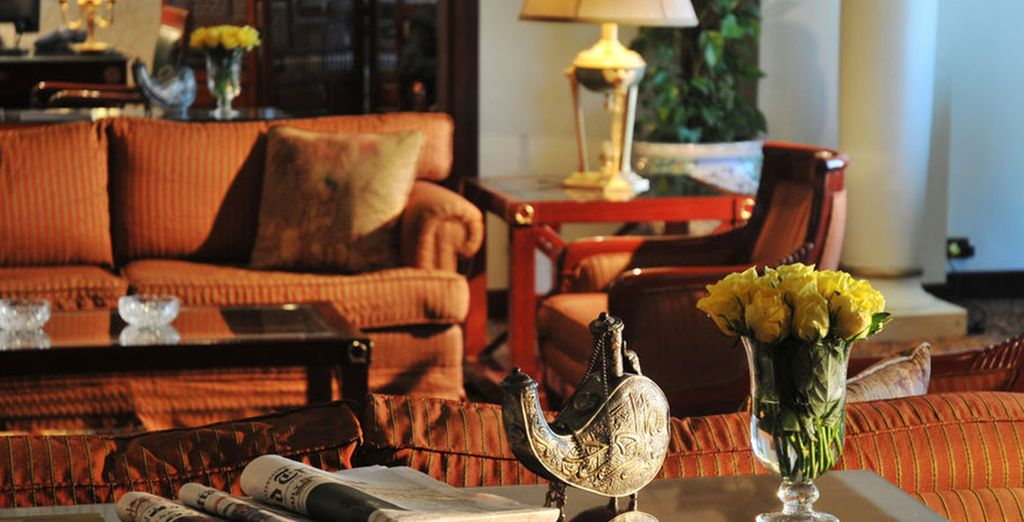 En El Cairo, se alojará en el hotel InterContinental Cairo Semiramis 5*