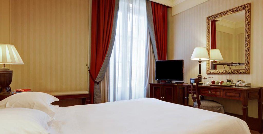 Descanse en su Habitación Hilton Plus