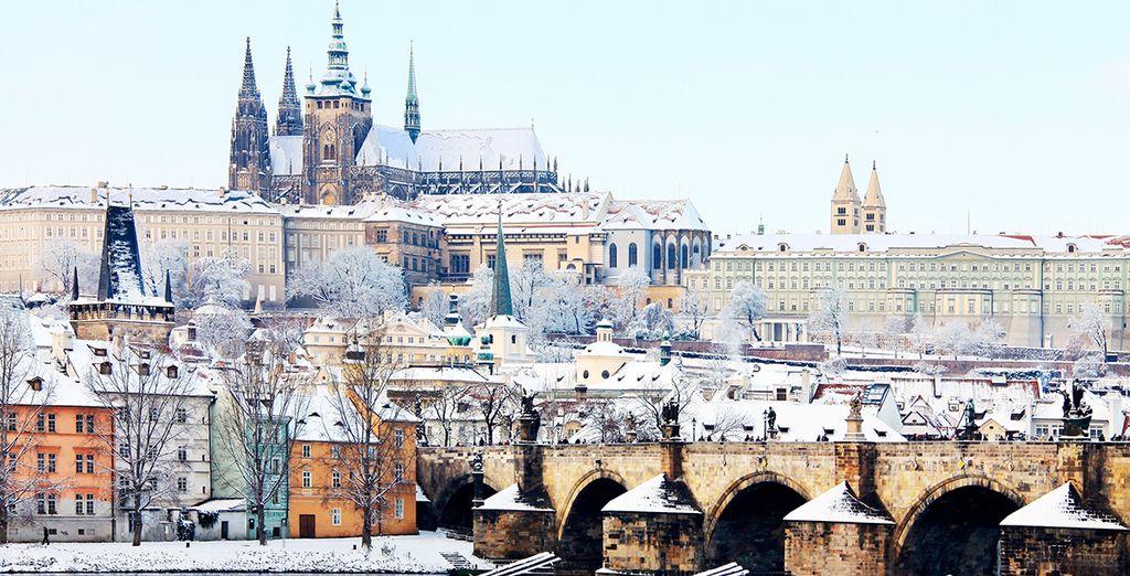 Disfruta de las panorámicas de la capital checa