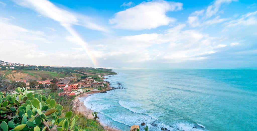 La costa de Sicilia y su aire mediterráneo