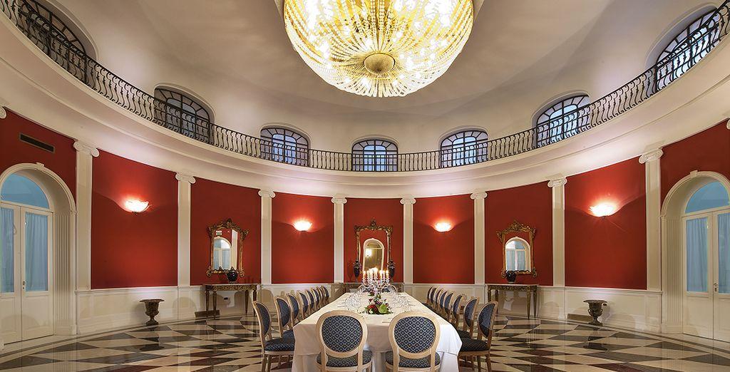 El estilo clásico engalana todas las estancias