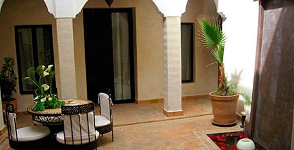 Bienvenido al Riad Dar Selen