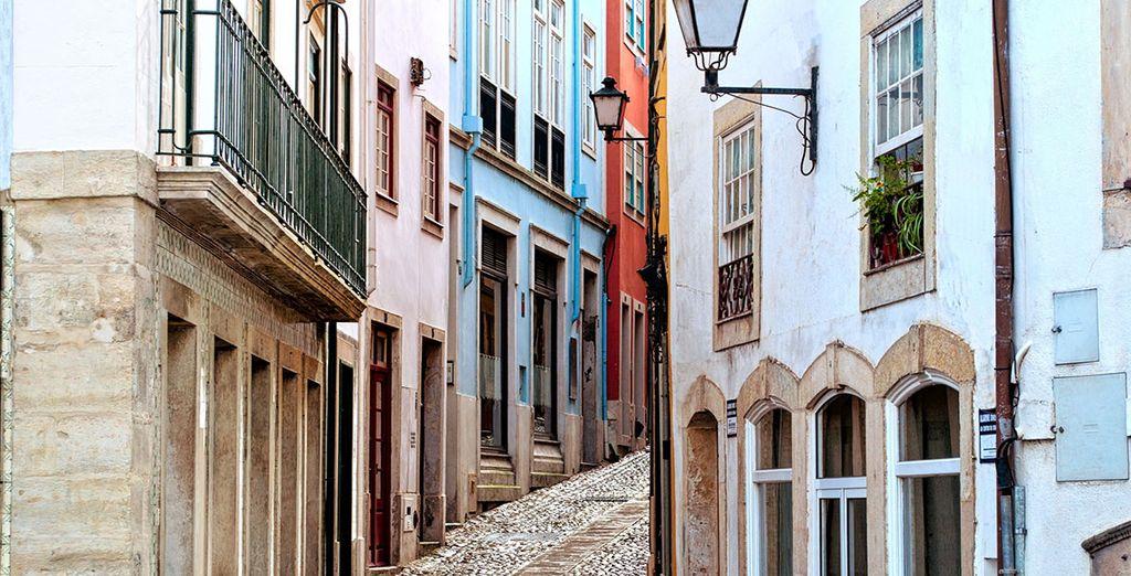 Asómate al encanto de Coimbra