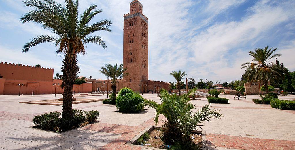 Marrakech, la ciudad roja y capital cultural