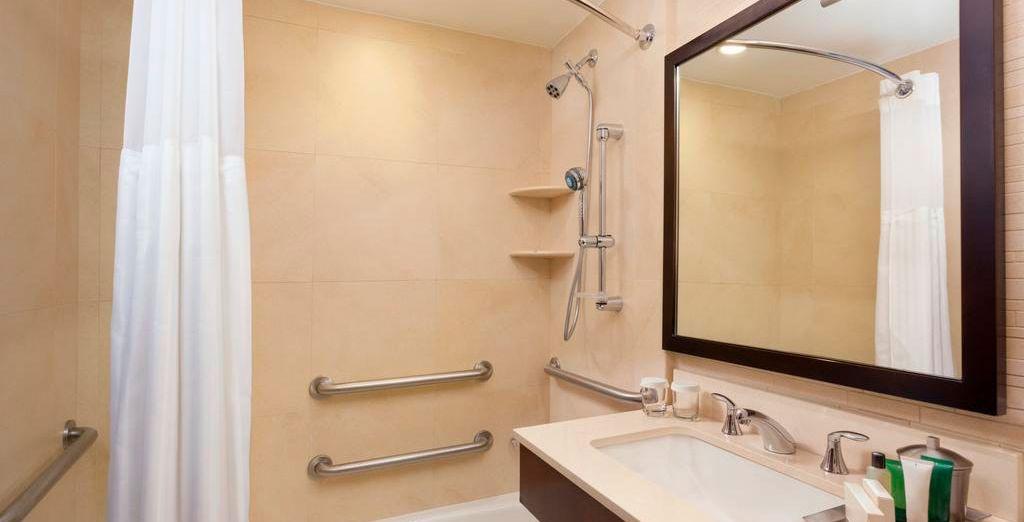Baño privado totalmente equipado