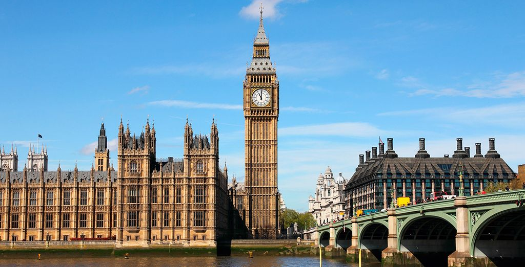 La inconfundible e icónica torre del Big Ben