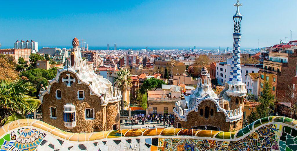 Estarás a solo media hora de Barcelona, una de las ciudades más turísticas del mundo