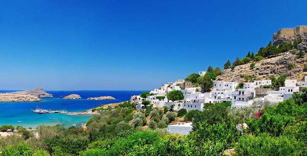 Una isla con encanto muy mediterránea