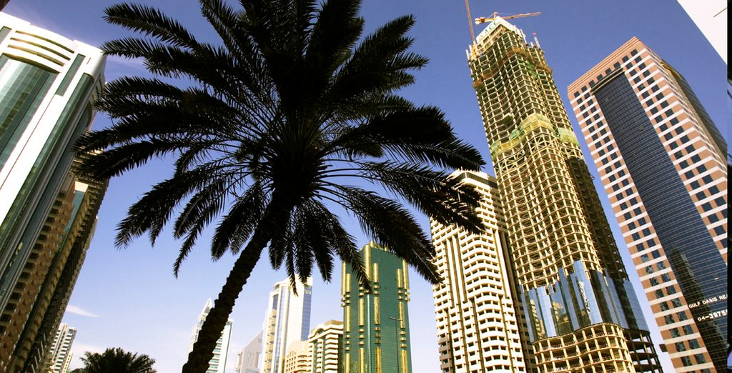 Descubra Dubái, una ciudad a la moda...