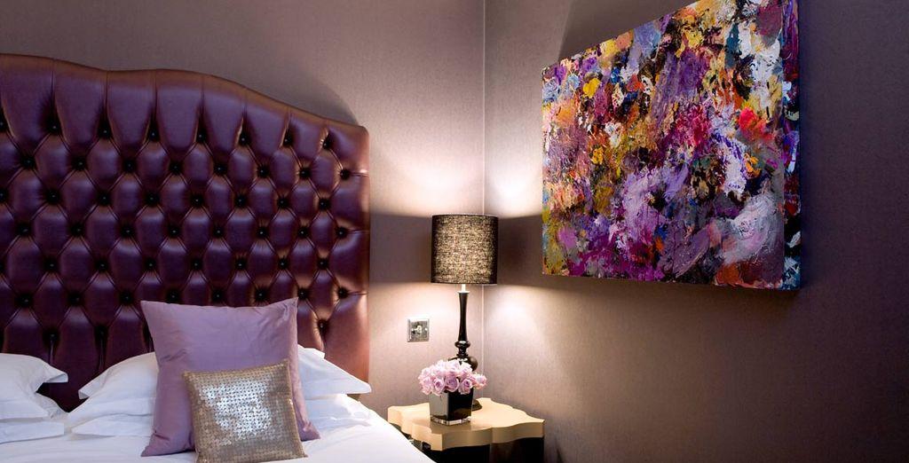 Disfrute de su elegante habitación Deluxe