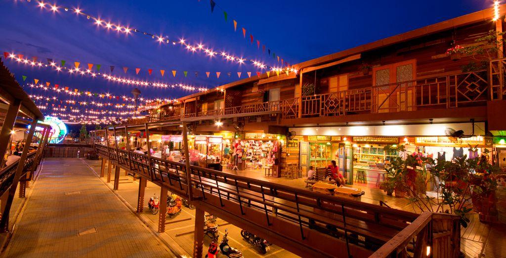 Disfrute de lugares famosos en la zona de Hua Hin