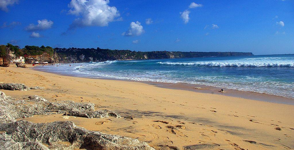 Playas de arena fina y agua cristalina