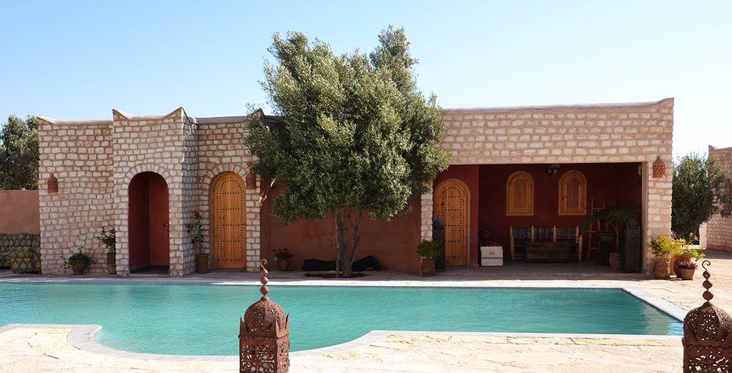 Sienta la esencia de Marruecos