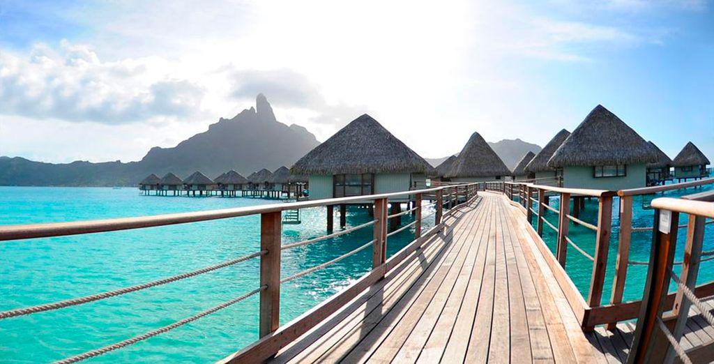 Meridien Bora Bora inspira relax y calma