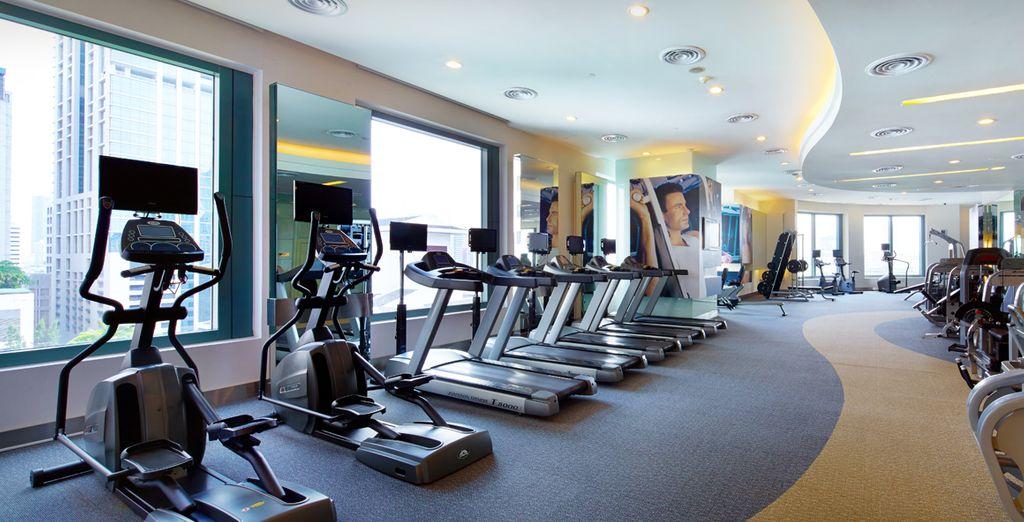 Disfrutará también del moderno gimnasio, Hotel Grande Centre Point