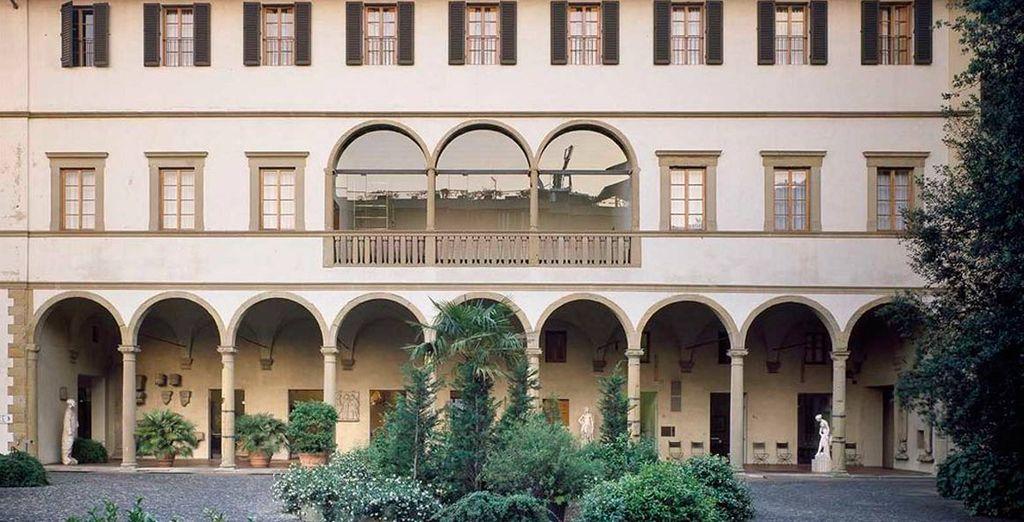 Hotel Riccasoli, Florencia