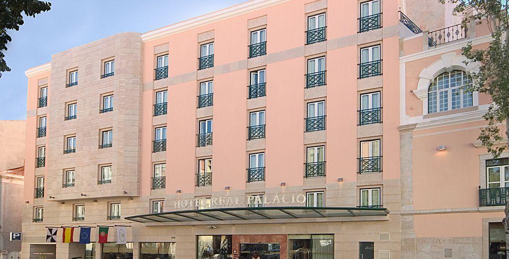 Edificio del Hotel Real Palacio
