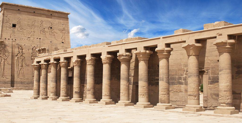 Conozca el templo dedicado a la Diosa Philae