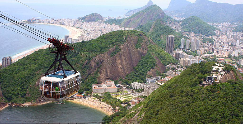 Visite y contemple los rincones mas bonitos de Brasil