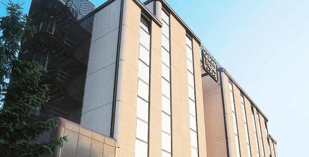 El Hotel Antony está situado en Mestre